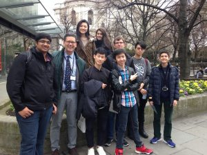 CATS London Hosts Students From Boston